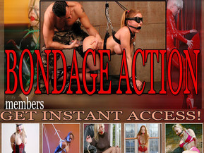 Crazy hot collection of beautiful girls in bondage action!