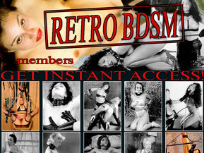 Site about vintage BDSM plays in retro pictures.