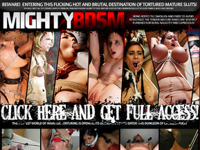 Join the hottest destination of the est bondaged fucking of mature babes striving to feel your ful fucking treats in their wet and horny hairy cunts and sensate your hot touché son the tender tortured skin of the swollen boobs!