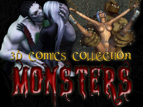 Monstrous collection of 3D MONSTERS comics! Tons of fantastic pictures!! Hot BABES hard fucked, gallons of cum, lots of big tits, shocking group sex and many-many more!!!
