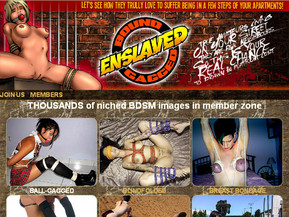 Shocking BDSM pictures. Dark side of real life. Girls being blindfolded, gagged, handcuffed, hogtied. Amateur and professional sources. Really thrilling, never seen content.