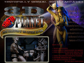 Welcome to the world of 3d fantasy bdsm! See young inexperienced babes taught their first lessons by horny monsters and lustful beings. Sign in and receive an access to the most forbidden fantasies of 3D porn. Huge collection of 100% extreme 3d porn.