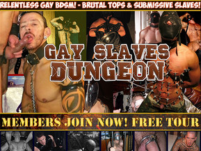 Only here you'll see relentless gay BDSM! Join right now and watch gay slaves punished by masters!