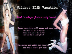 These young nasty girls are very ill-bred. They just need you to be their master, to tie them up and punish them for their bad behavior. Click here and teach them manners!