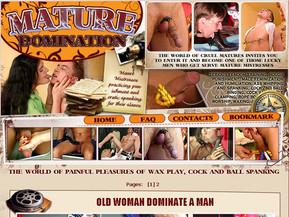 The world of matures invites you to enter it and become one of those lucky men who get serve mature mistress.