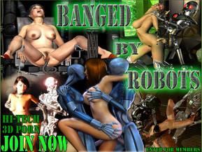 Live out your fantasies about future of sex! Robots, Fuck Machines, SciFi BDSM.