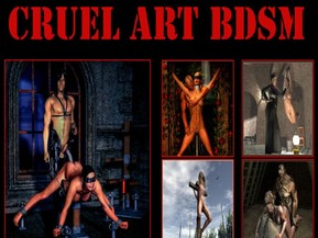 Hard Art BDSM - huge collection of 3d bdsm porn and art bondage drawing