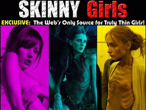If you're looking for super skinny waifs, bony, stick thin, slender, or thin girls, than this is the site you've been looking for!