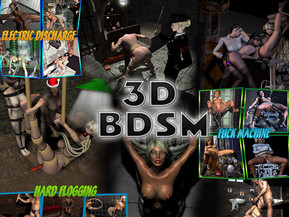 3D BDSM - Hard content flogging, bondage and anything else associated with BDSM, all pictures made in HD quality. Do not miss this opportunity and visit our resource.