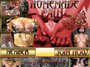 Enter into the world of homemade bondage. See the hot and kinky girls that are subjected to sadistic games with pleasure and . They are tied and hanged, whipped and gagged, tortured and humiliated. Real amateurs, submissive girls, and tons of kinky and naughty fun. Thousands of the hottest homemade amateur bondage pics await you inside..