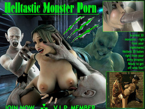 Scariest 3D monsters - right from your nightmares! Hottest 3D babes - right from your dirty dreams! Ready to get off with fear?Whatever you think about the fourth dimension and the other worlds, this shit is much, much shocking, nerve-racking and...hardcore! Yes, you will hardly find yourself anywhere but our universe - but you can meet the aliens, hosts, zombies, etc. here - fucking the most gorgeous babes in the top quality realistic 3D comics!