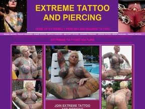 Welcome to Extreme tattoo and piercing! These Sexy body art babes have sexy piercings and tattoos! Hot gothic chicks who are loaded with tattoos and body piercings getting completely nasty for the camera. They wanna show you all of their hidden piercings! These fresh amateur babes are very perverted and love living outside of the norm. See just what kinky and bizarre ways they love their sex!!!