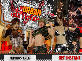 They wear their futuristic armour of urban jungles fighters and enters the ring with only win in their minds `cause rates are extremely high - loser must surrender to perevrted lesbian fucking fantasies of the winner in these Urban Catfights.