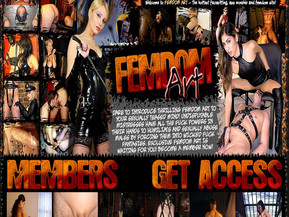 Dare to introduce thrilling femdom art to your sexually teased mind! Undisputable mistresses have all the fuck powers in their hands to humiliate and sexually abuse males by getting them into wicked fuck fantasies. Exclusive femdom art is waiting in you!