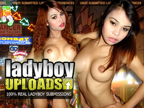 Tired of boring staged ladyboy porn? We are here to give you the real thing here at Ladyboy Uploads! This amateur porn site fully dedicated to Asian trannies offers you user-submitted content filmed by real sex tourists that got the best of their trips to the Far East. The yummiest man pussies and tranny dicks await at Ladyboy Uploads!