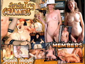 Mature delicious grannies doing outstanding sexual stuff on cam