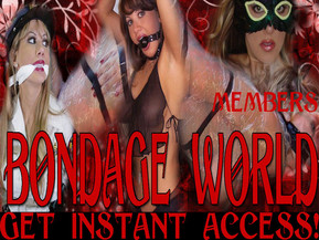 Bondage World - World of stylish bondage and sensual bdsm action