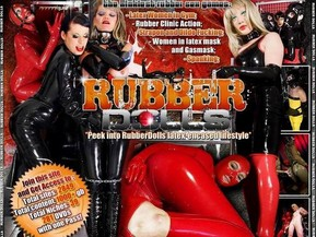 Hot girls in rubber and latex outfits. See rubber dolls in spanking, bondage, strapon, dildo, machine fucking fetish videos etc