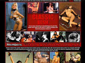 Classic ladies are caught by the sexual addict who enjoys bdsm and binds the hot maids to have all the power over them
