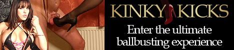 Kinky Kicks - The Ultimate Ballbusting experience!