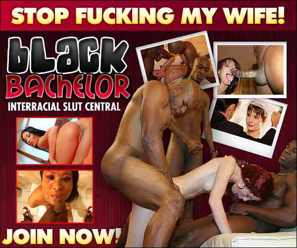 Dirty white black cock sluts! Forced black cock cum eaters! Black man bukkake on pretty white faces!