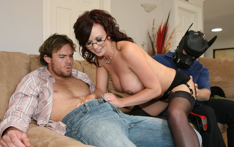 Some married couples fulfilling their wife-swapping and cuckolding fantasies!