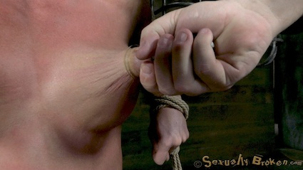 Inescapable bondage, Brutal sex, Devastating orgasms