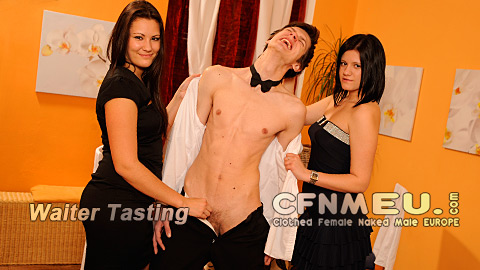 Clothed female nakes male - Straight men humiliated and dominated by sexy women!