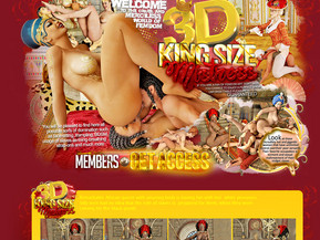 3D King Size Mistress