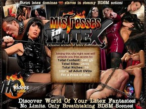 Discover your awesome and exciting world of latex femdom and bdsm action.We give you a chance to enjoy strict mistesses in latex and submissive slaves. Original scenes of BDSM Latex Kink
