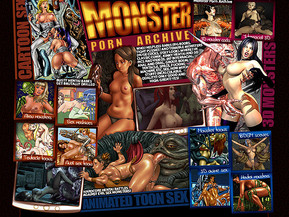 Who? Helpless babes (big boobs, tight pussies) and terrible monsters (huge cocks, ugly look). Where? In classic comic, kinky hentai and 3D pics and videos. In? Interracial, anal and oral, group, bdsm, tentacle, space, fucking machine, etc. sex. How much stuff? Incalculable. Quality? Only good and high. Great? Yes!